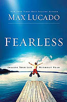 Book cover of Fearless by Max Lucado